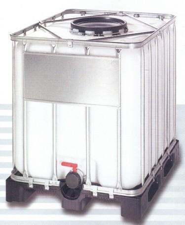 6e28f22f6967 1000 literes IBC tartaly műanyag raklappal. 1000 literes IBC tartály